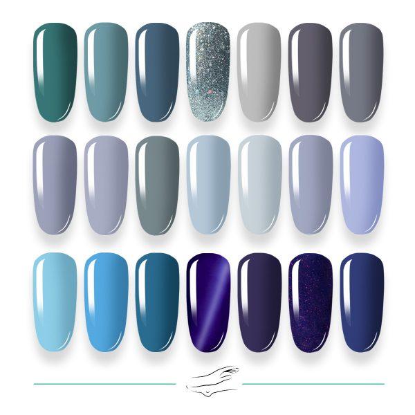 Colores en gel Masha's 022-042