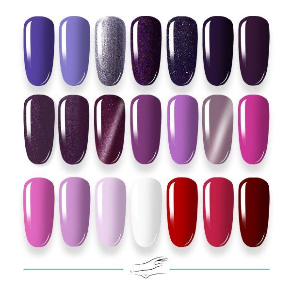 Colores en gel Masha's 043-063