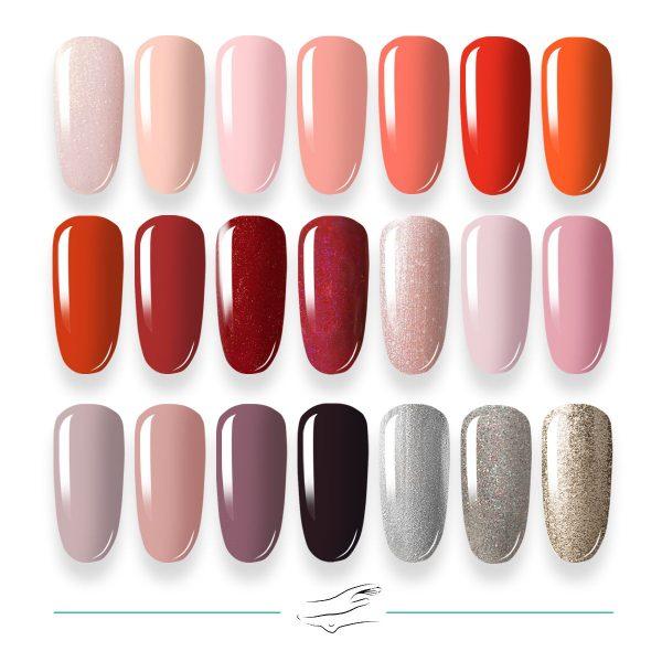 Colores en gel Masha's 085-105