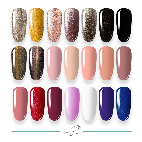 Colores en gel Masha's 106-126