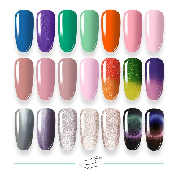 Colores en gel Masha's 127-147