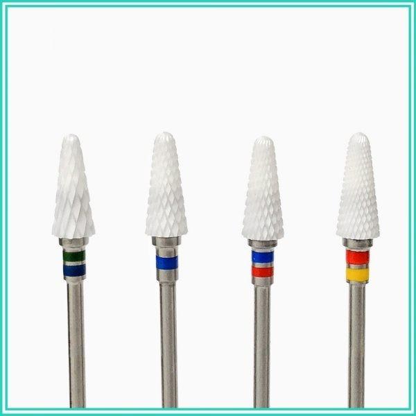 Ceramic Nail Drill Bits